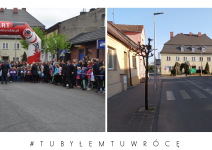 Bieg hopfera w Janowcu Wielkopolskim - zdjęcie nadesłane przez burmistrza Leszka Grzeczkę