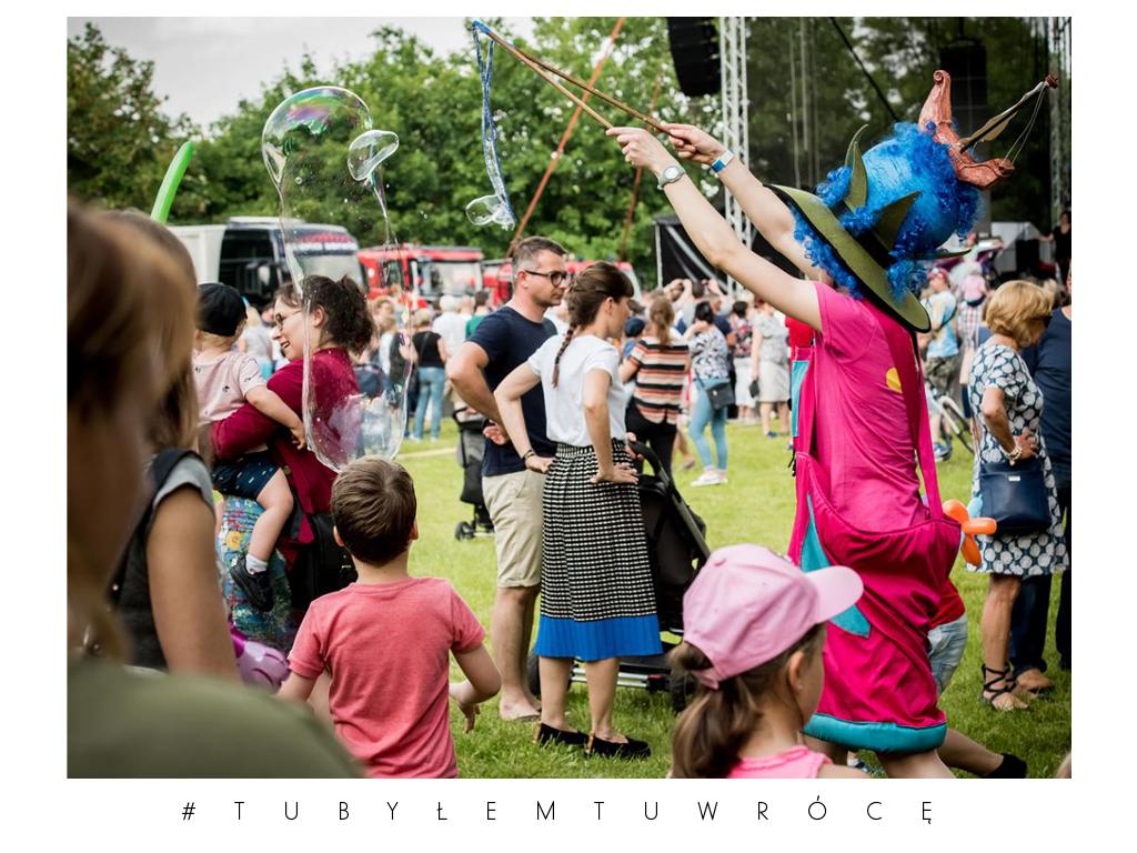Dzień dziecka w trakcie Średzkich Sejmików Kultury - zdjęcie nadesłane przez UM w Środzie Wlkp.