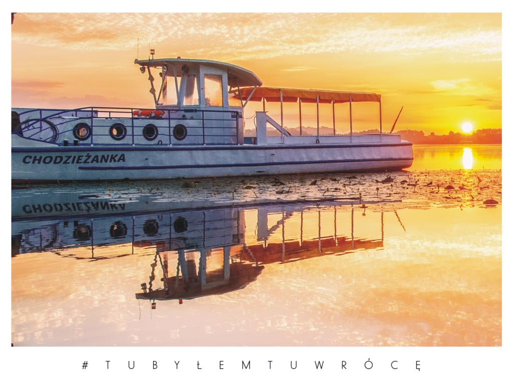 Jezioro Miejskie - zdjęcie nadesłane przez burmistrza Chodzieży Jacka Gursza