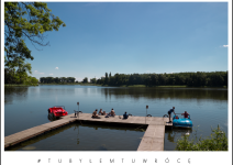 Jezioro Popielewskie w gminie Trzemeszno. Zdjęcie nadesłane przez Urząd Miejski Trzemeszna