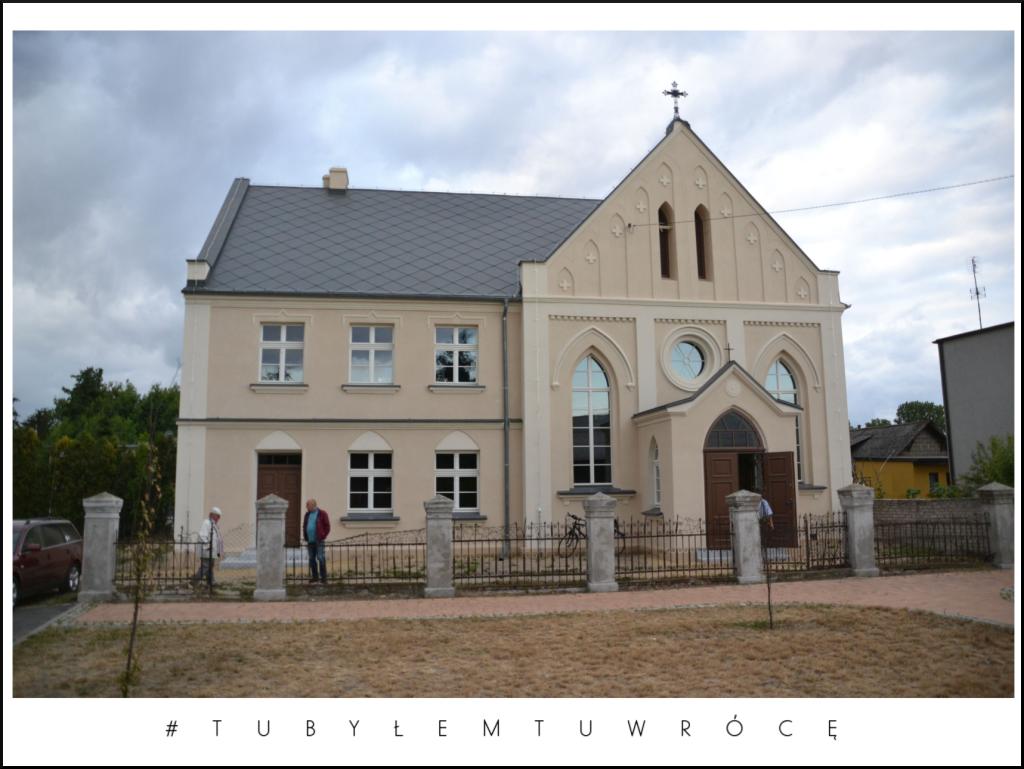 Kaplica Ewangelicka w Koźminku. Zdjęcie nadesłane przez Urząd Gminy Koźminek