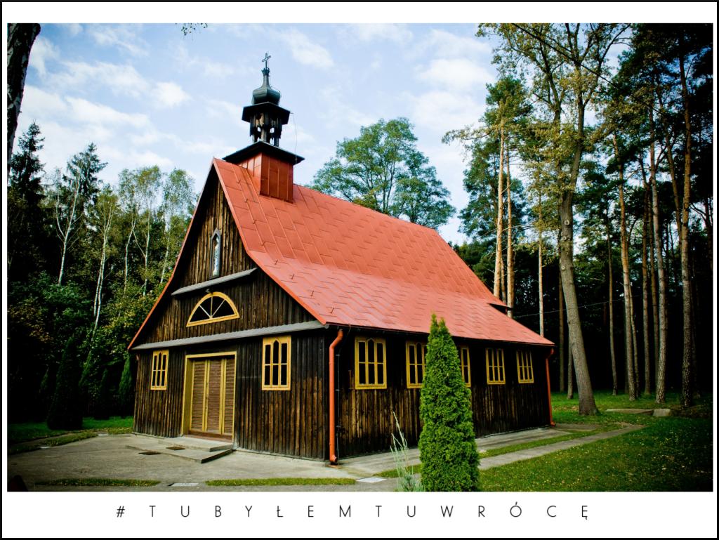 Kaplica w Krzyżówkach - Gmina Koźminek. Zdjęcie nadesłane przez Urząd Gminy Koźminek