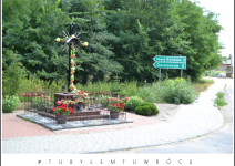Kapliczka w Gaci Kaliskiej - Gmina Koźminek. Zdjęcie nadesłane przez Urząd Gminy Koźminek