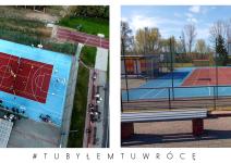 Orlik do koszykówki w Janowcu Wielkopolskim - zdjęcie nadesłane przez burmistrza Leszka Grzeczkę
