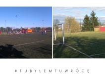 Orlik piłkarski w Janowcu Wielkopolskim - zdjęcie nadesłane przez burmistrza Leszka Grzeczkę