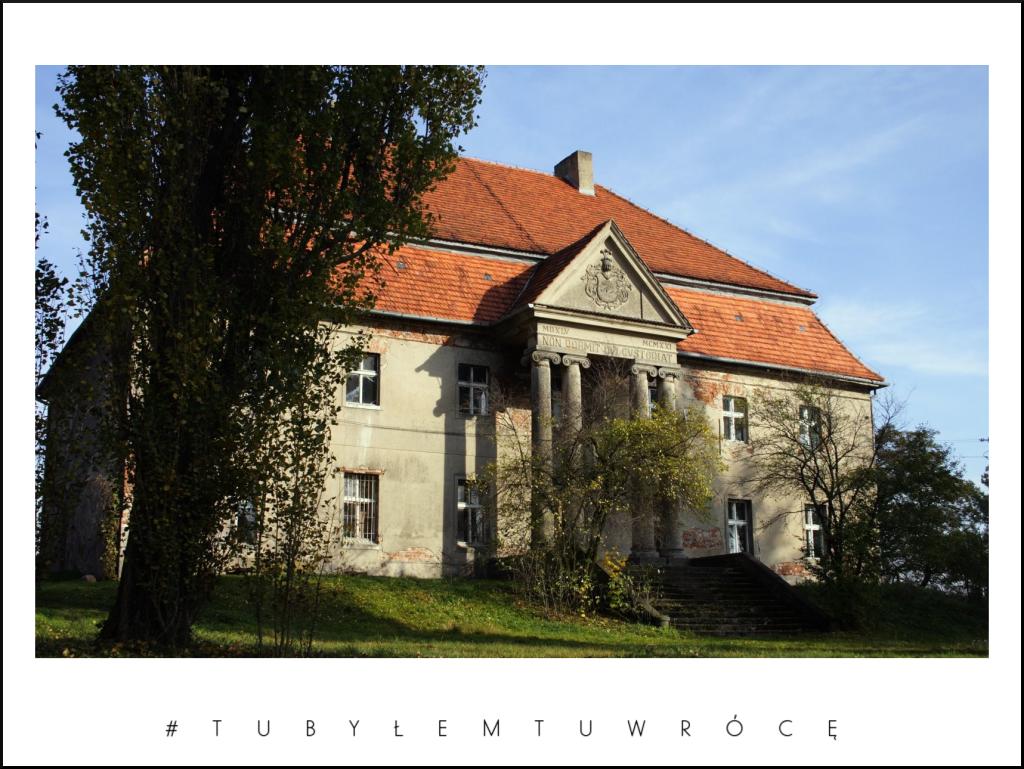Pałac w Kruchowie - gmina Trzemeszno. Zdjęcie nadesłane przez Urząd Miejski Trzemeszna