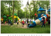 Plac zabaw nad Jeziorem Średzkim - zdjęcie nadesłane przez UM w Środzie Wlkp.