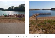 Plaża w Laskowie (gmina Janowiec Wielkopolski) - zdjęcia nadesłane przez burmistrza Leszka Grzeczkę