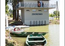 Przystań na Jeziorze Niepruszewskim - zdjęcie nadesłane przez Urząd Gminy Dopiewo