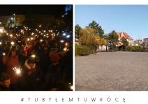 Rynek w Janowcu Wielkopolskim - zdjęcie nadesłane przez burmistrza Leszka Grzeczkę
