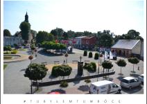 Rynek w Koźminku. Zdjęcie nadesłane przez Urząd Gminy Koźminek