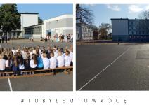 Szkoła Podstawowa w Janowcu Wielkopolskim - zdjęcia nadesłane przez burmistrza Leszka Grzeczkę