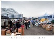 Targowisko w Koźminku. Zdjęcie nadesłane przez Urząd Gminy Koźminek