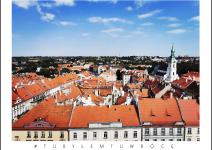 Widok z wieży na Kalisz - zdjęcie nadesłane przez Urząd Miasta Kalisza