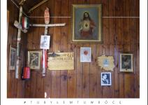 Wnętrze kaplicy w Krzyżówkach - Gmina Koźminek. Zdjęcie nadesłane przez Urząd Gminy Koźminek