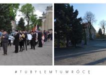Przejście z kościoła na Rynek w Janowcu Wielkopolskim - zdjęcie nadesłane przez burmistrza Leszka Grzeczkę