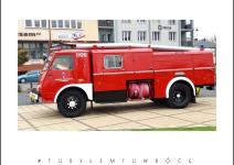 Zabytkowy wóz strażacki w Koźminku. Zdjęcie nadesłane przez Urząd Gminy Koźminek
