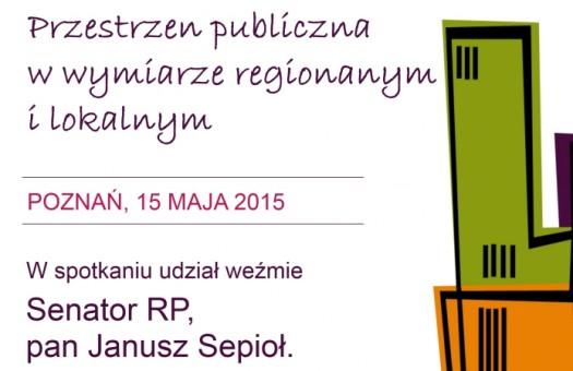 SEMINARIUM: Przestrzeń publiczna w wymiarze regionalnym i lokalnym