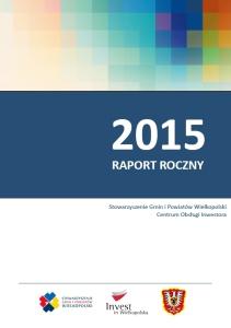 Raport roczny 2015