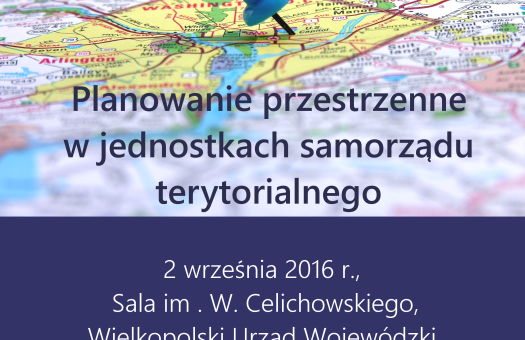 SEMINARIUM: Planowanie przestrzenne w jednostkach samorządu terytorialnego