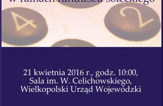 SEMINARIUM: Realizacja inicjatyw lokalnych w ramach funduszu sołeckiego