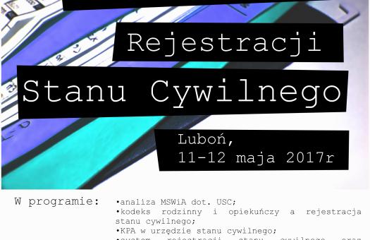 Lubusko-Wielkopolskie Seminarium Rejestracji Stanu Cywilnego