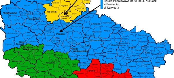 etap rejonowy - podział