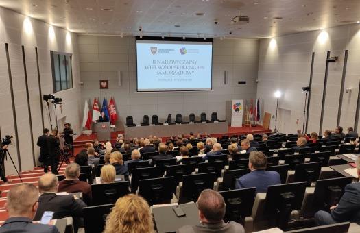 II Nadzwyczajny Wielkopolski Kongres Samorządowy za nami